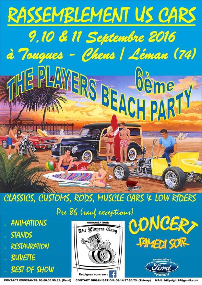 2016PlayersBeachParty